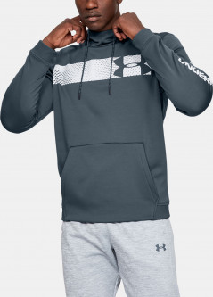 Худи Under Armour Af Po Hoodie Bar Logo Graphic 1345322-073 L Серое (192810791206)