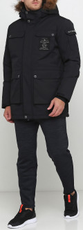 Пуховик Anta Mid-Long Down Jacket ant85936971-3 M Черный (6919370379408)