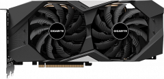 Gigabyte PCI-Ex GeForce RTX 2060 Windforce 6G 6GB GDDR6 (192bit) (1680/14000) (1 x HDMI, 3 x Display Port) (GV-N2060WF2-6GD)