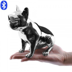 Портативная Bluetooth колонка Aerobull DOG METALLIC S5 Gray 10W c функцией speakerphone радио USB зарядка (6999 L)