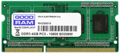 Оперативная память Goodram SODIMM DDR3-1333 4096MB PC3-10600 (GR1333S364L9S/4G)