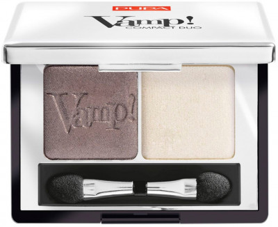 Тени для век Pupa Vamp! Compact Duo Eyeshadow №08 Cream Taupe 2.2 г (8011607238026)