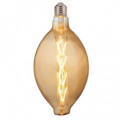 Лампа Horoz Filament led Enigma-XL 8W E27 2400К Янтарь Желтая (001 051 0008 XL А)