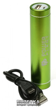 УМБ PowerPlant 2600 mAh Green (PPLA103)