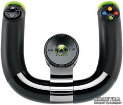 Беспроводной руль Microsoft Xbox 360 Speed Wheel + Forza Horizon Bluetooth Black (2ZJ-00041)