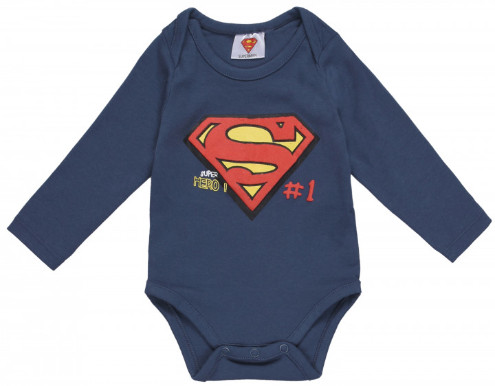 Боди TV Mania Superman PO00006940 (B1246690) 62 см Navy (4062391025228)