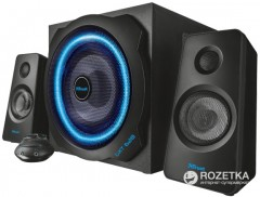 Trust GXT 628 2.1 Illuminated Speaker Set Limited Edition Black (TR20562)