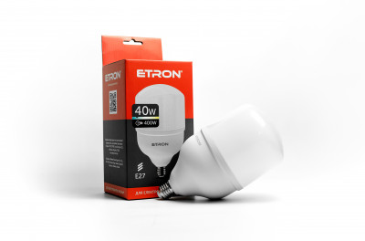 LED лампа ETRON High Power 1-EHP-304 T120 40W 6500K 220V E27