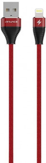 Кабель Awei CL-31 Ligthning Cable 2 м Red (FSH101126)