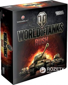 Настольная игра Hobby World World of Tanks: Rush (4620011813411)