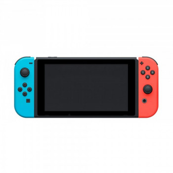 Nintendo Switch Neon Blue-Red (Upgraded version) + Игра The Legend of Zelda: Link's Awakening (русская версия)