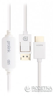 Кабель Prolink DisplayPort - HDMI 2 м (MP416)