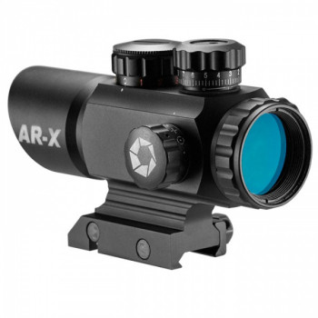 Прицел коллиматорный Barska Multi Reticle AR-X 1x35 (Picatinny) new