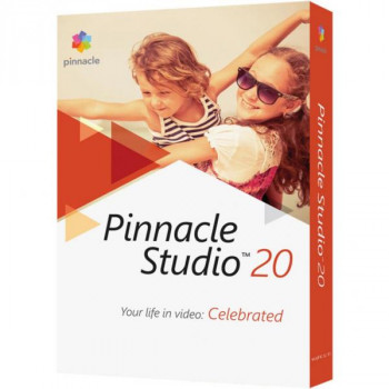ПО для мультимедіа Corel Pinnacle Studio 20 Standard ML RU/EN for Windows (PNST20STMLEU)