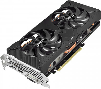 Palit PCI-Ex GeForce GTX 1660 Super GamingPro 6GB GDDR6 (192bit) (1530/14000) (DVI, HDMI, DisplayPort) (NE6166S018J9-1160A)