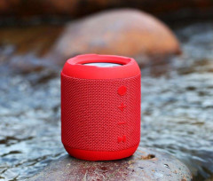 Портативная bluetooth колонка REMAX Bluetooth Fabric RB-M21 Red