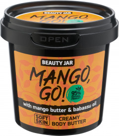 Крем для тела Beauty Jar Mango, Go! 135 г (4751030831145)