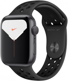 Смарт-часы Apple Watch Series 5 Nike+ GPS 44mm Space Gray Aluminium Case with Anthracite/Black Sport Band (MX3W2)