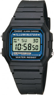 Часы Casio Standard Digital F-105W-1AWYEF 255345