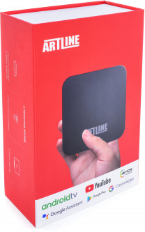 ARTLINE TvBox KM9Pro 4/32GB Android TV 9.0