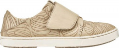 Жіночі кеди OluKai Pehuea Loupili Sneaker Tapa Monstera/Off White Full Grain Leather 36 (147243)