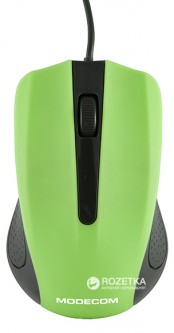 Мышь Modecom MC-M9 USB Black/Green (M-MC-00M9-180)