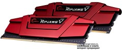 Оперативная память G.Skill DDR4-3000 16384MB PC4-24000 (Kit of 2x8192) Ripjaws V (F4-3000C15D-16GVR)