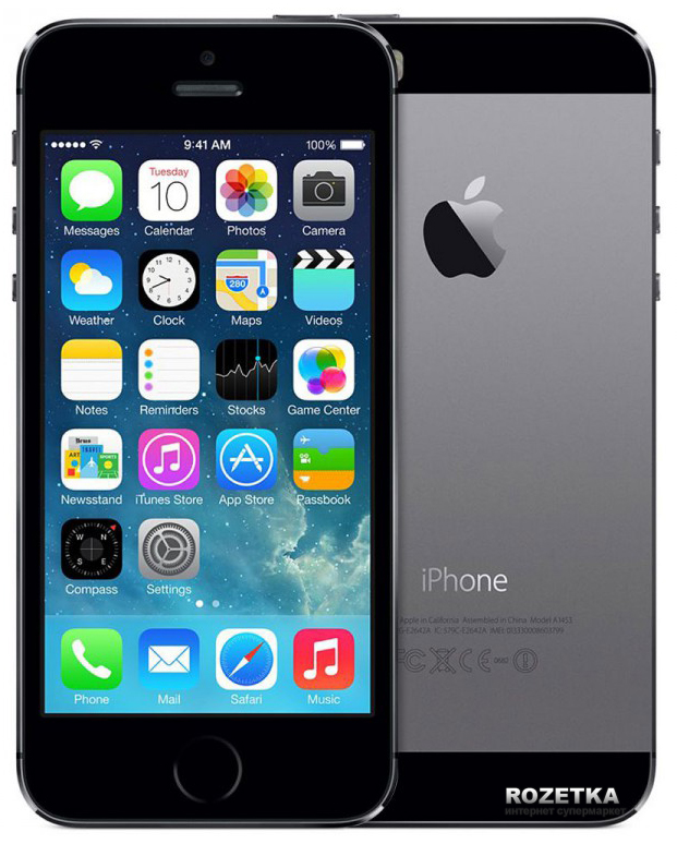 Инструкция для apple iphone 5 16gb