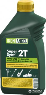 Масло Iron Angel 2T Master Synt 1 л (42775)
