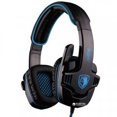 Sades SA-901 Wolfang Surround Stereo Gaming Headset (SA901-B-BL)