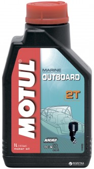 Моторное масло Motul Outboard 2T 1 л (102788)