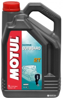 Моторное масло Motul Outboard 2T 5 л (101734)