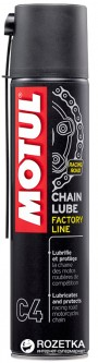 Смазка для цепей Motul C4 Chain Lube Factor Line 400 мл (102983)