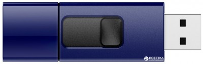 Флеш-пам'ять USB Silicon Power Ultima U05 16GB Deep Blue (SP016GBUF2U05V1D)
