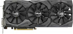 Asus PCI-Ex GeForce GTX 1070 ROG Strix 8GB GDDR5 (256bit) (1632/8000) (DVI, 2 x HDMI, 2 x DisplayPort) (STRIX-GTX1070-O8G-GAMING)