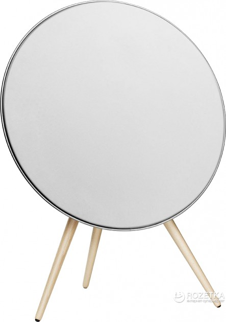 Акустична система Bang & Olufsen BeoPlay A9 White, incl. front cover, maple legs (2890-19) - зображення 1