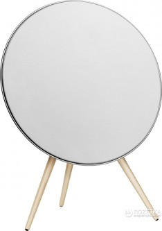 Акустическая система Bang & Olufsen BeoPlay A9 White, incl. front cover, maple legs (2890-19)