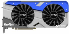 Palit PCI-Ex GeForce GTX 1080 GameRock 8GB GDDR5X (256bit) (1645/10000) (DVI, HDMI, 3 x DisplayPort) (NEB1080T15P2-1040G)