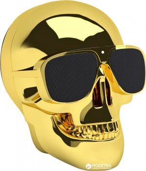 Акустична система Jarre Aeroskull Nano Chrome Gold (ML80112)