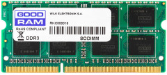 Оперативная память Goodram SODIMM DDR3L-1600 8192MB PC3-12800 (GR1600S3V64L11/8G)