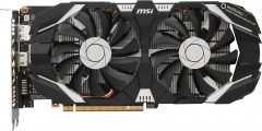 MSI PCI-Ex GeForce GTX 1060 OC 6GB GDDR5 (192bit) (1544/8008) (DVI, HDMI, DisplayPort) (GTX 1060 6GT OCV1)