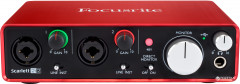 Аудиоинтерфейс Focusrite Scarlett 2i2 NEW (223890)