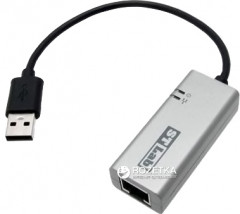 Адаптер STLab USB 3.0 to Gigabit Ethernet 0.18 м Black/Grey (U-980)