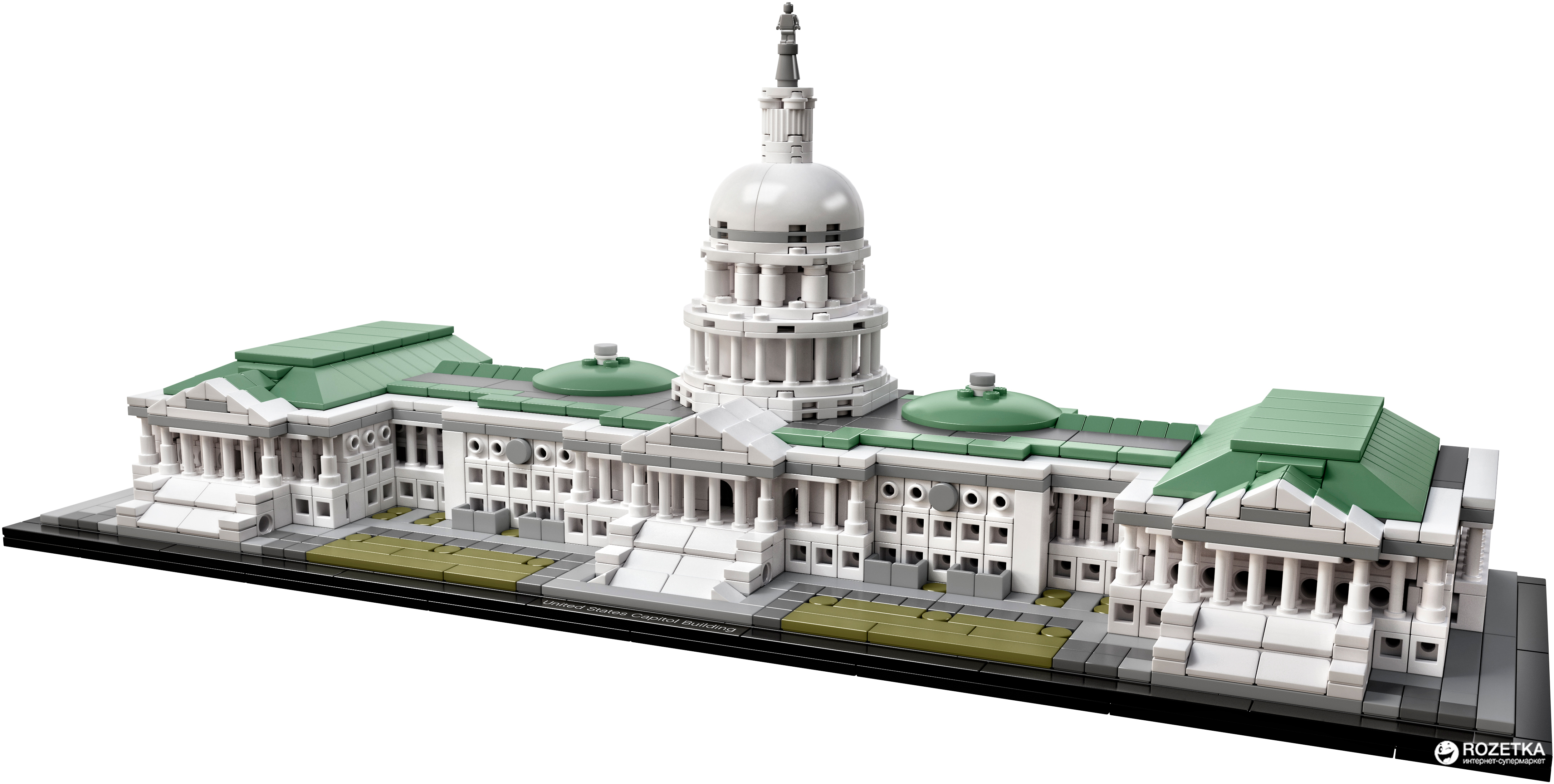 lego architecture capitol building - HD