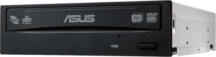 Оптический привод Asus DVD±R/RW SATA Bulk Black (DRW-24D5MT/BLK/B/AS) - изображение 1