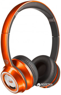 Monster NCredible NTune On-Ear Headphones Candy Orange (MNS-128524-00)