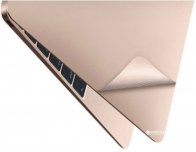 Захисна плівка JCPAL 3 in 1 set для MacBook 12 Gold (JCP2144)