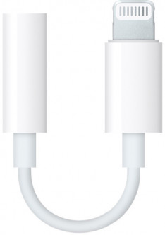 Адаптер Apple Lightning - 3.5 mm White (MMX62ZM/A)