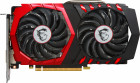 MSI PCI-Ex GeForce GTX 1050 Ti GAMING X 4GB GDDR5 (128bit) (1354/7008) (DVI, HDMI, DisplayPort) (GTX 1050 TI GAMING X 4G)