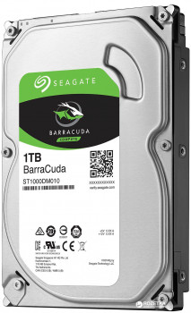 Жорсткий диск Seagate BarraCuda HDD 1TB 7200rpm 64MB ST1000DM010 3.5 SATA III